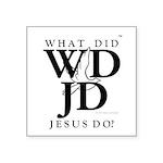 Jesus-WDJD Square Sticker 3