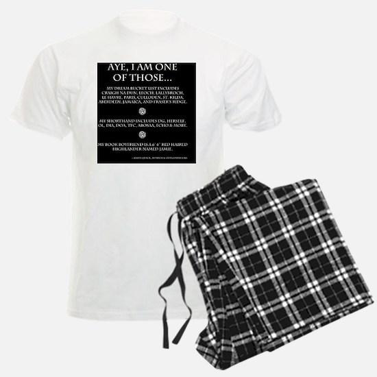 Call Me Sassanach inverted jp Pajamas