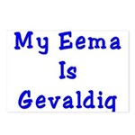 Jewish Eema is Gevaldig Postcards (Package of 8)