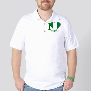 I love Nigeria Golf Shirt