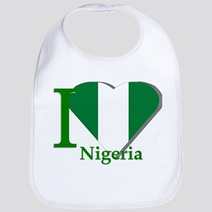I love Nigeria Bib