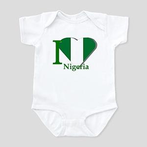 I love Nigeria Infant Bodysuit