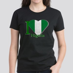 I love Nigeria Women's Dark T-Shirt