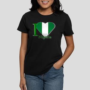 I love Nigeria Women's Dark T-Shirt