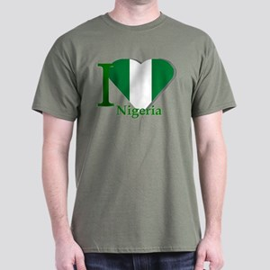 I love Nigeria Dark T-Shirt