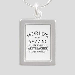 World's Most Amazing Art Silver Portrait Necklace