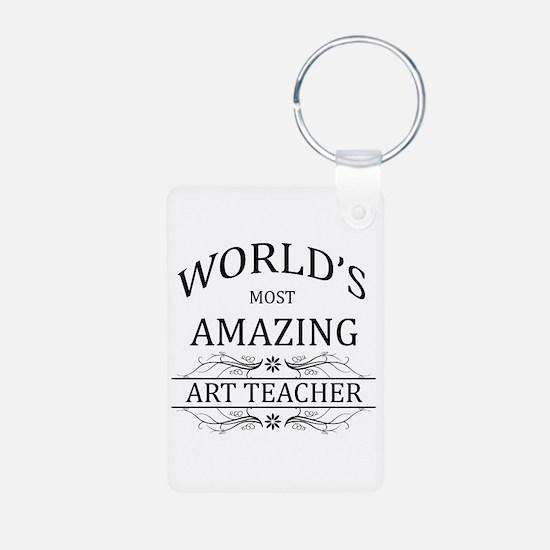 World's Most Amazing Art T Keychains