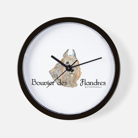 Bouvier Sweetie Wall Clock