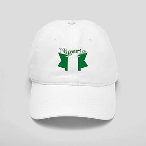 Nigeria flag ribbon Cap