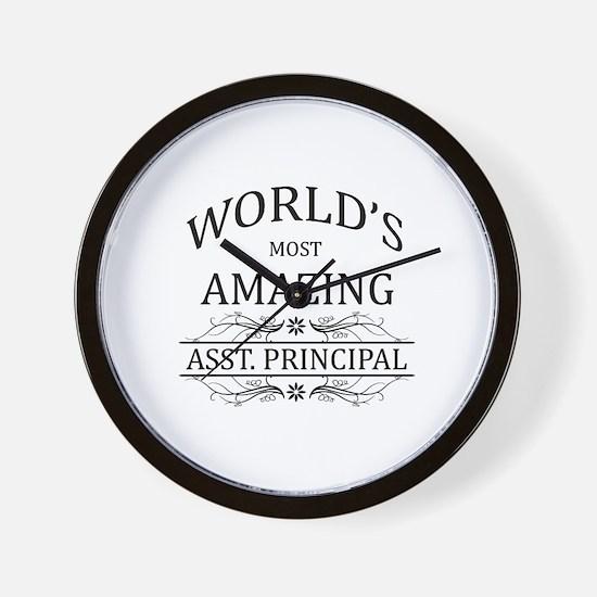 World's Most Amazing Asst. Principal Wall Clock