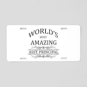 World's Most Amazing Asst. Aluminum License Plate