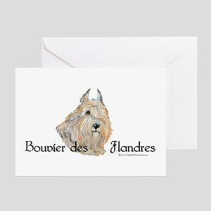 Bouvier Sweetie Greeting Cards (Pk of 10)