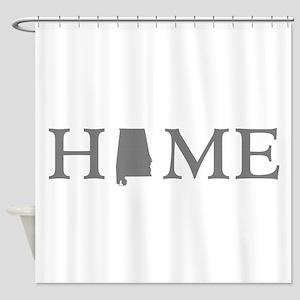 Alabama home state Shower Curtain