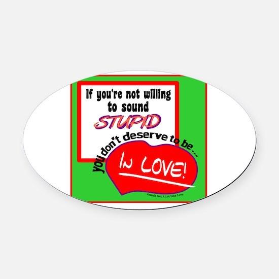 Sound Stupid-Amanda Peet/A Lot Like Love Oval Car