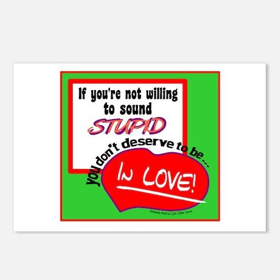Sound Stupid-Amanda Peet/A Lot Like Love Postcards