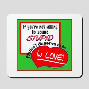 Sound Stupid-Amanda Peet/A Lot Like Love Mousepad