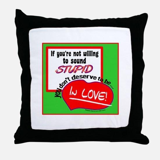 Sound Stupid-Amanda Peet/A Lot Like Love Throw Pil