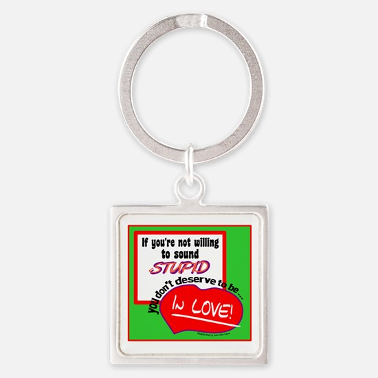 Sound Stupid-Amanda Peet/A Lot Like Love Keychains