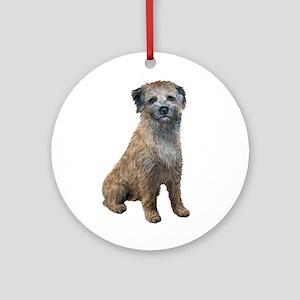 Border Terrier (#2) Ornament (Round)