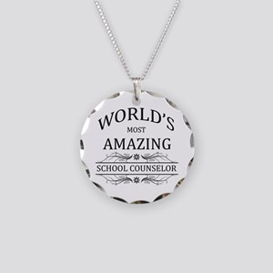 World's Most Amazing School Necklace Circle Charm