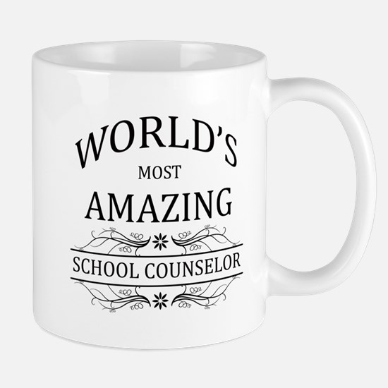 World's Most Amazing School Counselor Mug