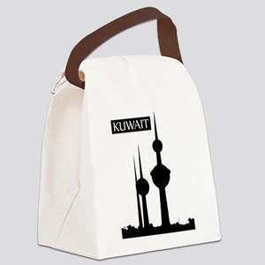 Kuwait Towers, Kuwait City, Kuwai Canvas Lunch Bag