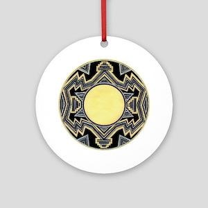 MIMBRES HIGHLANDS BOWL DESIGN Ornament (Round)