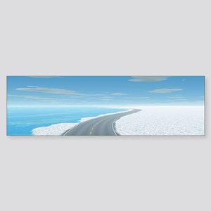 Ice Road Sticker (Bumper)