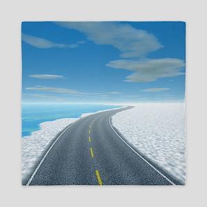 Ice Road Queen Duvet