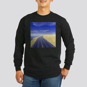 Fine Day Long Sleeve Dark T-Shirt
