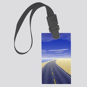 Fine Day Large Luggage Tag