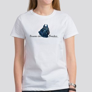 Bouvier des Flandres Black Women's T-Shirt