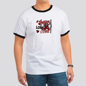 Multiple Myeloma Peace Love Cure 2 Ringer T