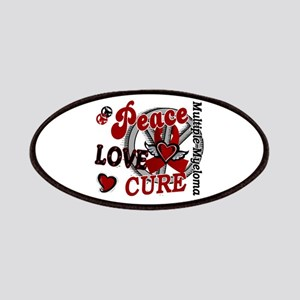 Multiple Myeloma Peace Love Cure 2 Patches