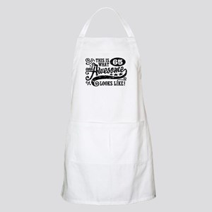 65th Birthday Apron