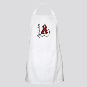 Multiple Myeloma Flower Ribbon 1.4 Apron