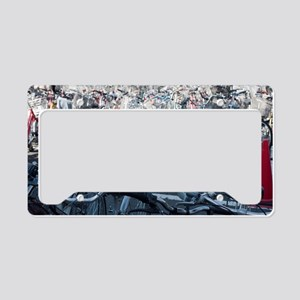 Kyoto bicycle park License Plate Holder
