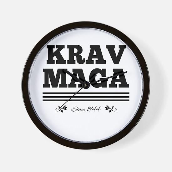 Krav Maga since 1944 Wall Clock