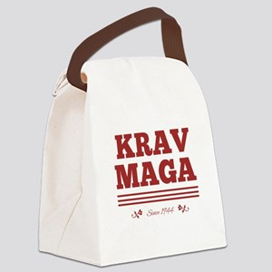 Krav Maga since 1944 red Canvas Lunch Bag