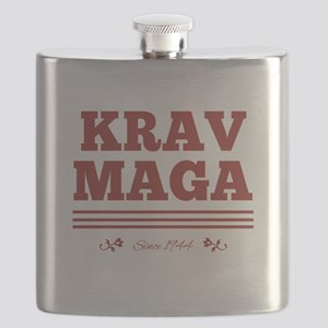 Krav Maga since 1944 red Flask