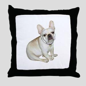 French Bulldog (#2) Throw Pillow