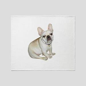 French Bulldog (#2) Throw Blanket