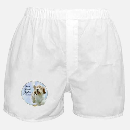 PBGV Portrait Boxer Shorts