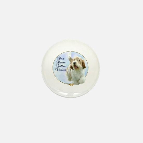 PBGV Portrait Mini Button