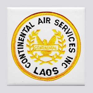 Continental Air Laos Tile Coaster