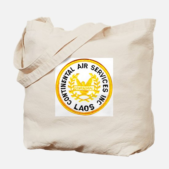 Continental Air Laos Tote Bag