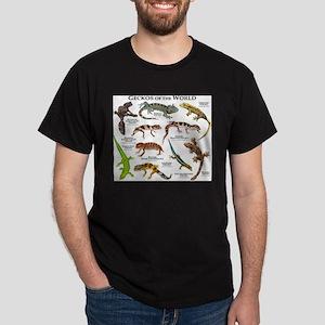 Geckos of the World Dark T-Shirt