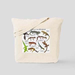 Geckos of the World Tote Bag