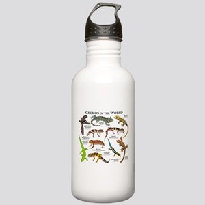 Geckos of the World Stainless Water Bottle 1.0L