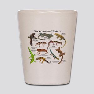 Geckos of the World Shot Glass